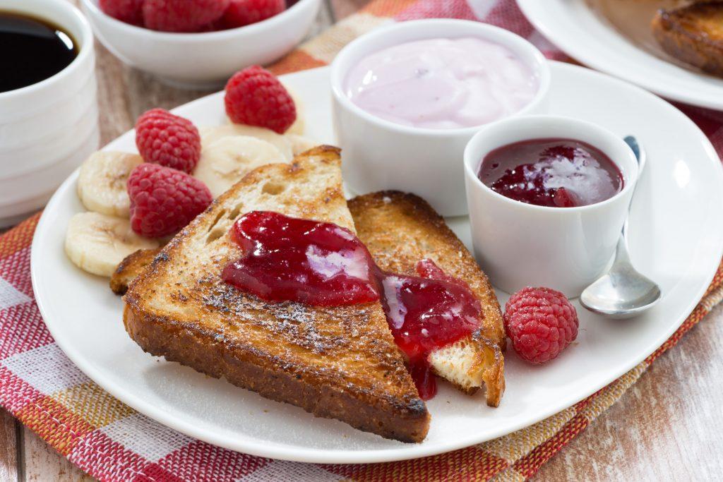 prendre le temps de petit-déjeuner