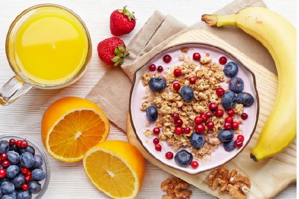 jus de fruits pour un bon équilibre alimentaire